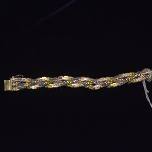 Jewelry - Italian Bracelet with Gold and Rose Gold